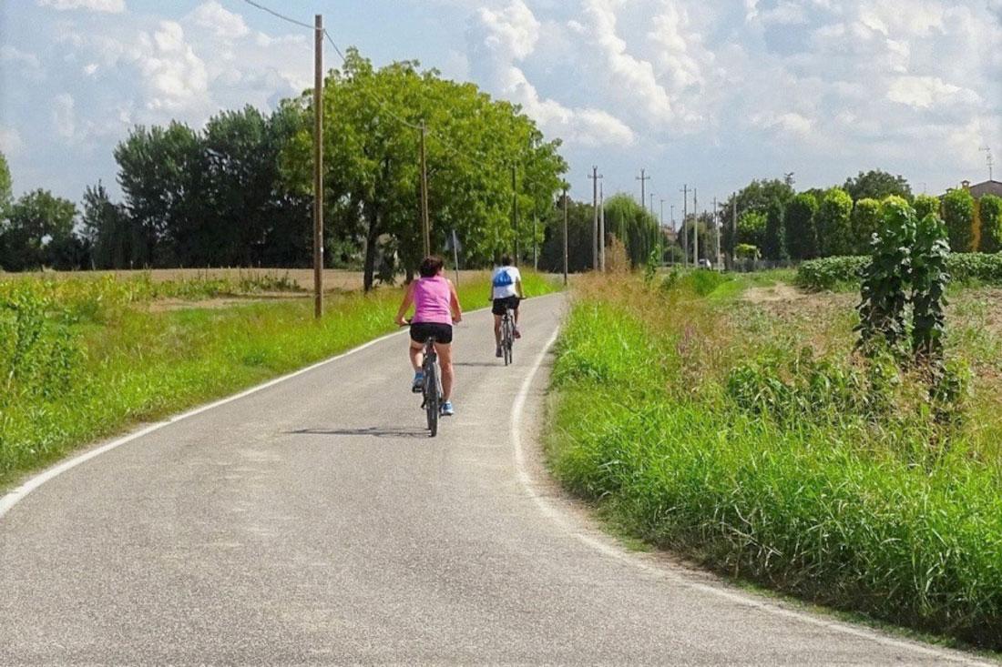 Percorso cicloturistico vicino l'agriturismo