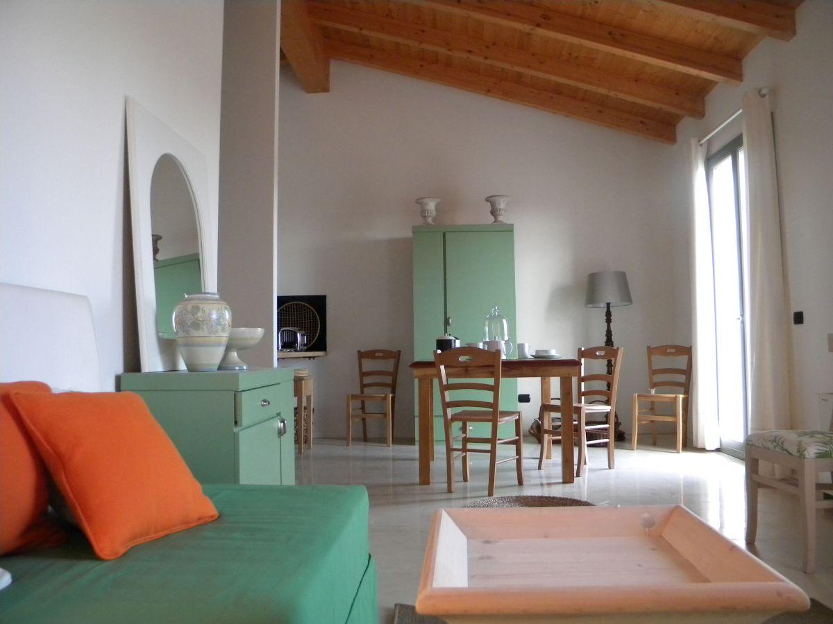 Uno dei sei appartamenti vacanza ecologico